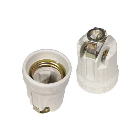 Kanlux E27-D csavaros porcelán foglalat M10 HLDR-E27 2162