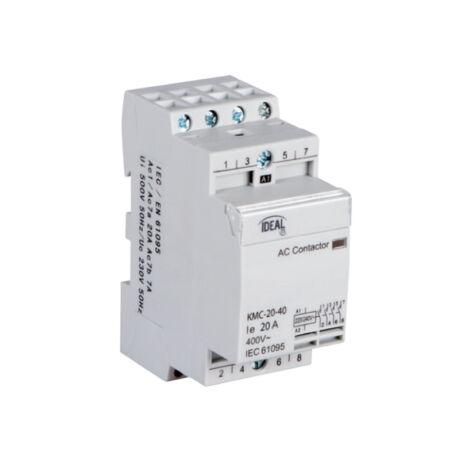 Kanlux KMC-20-40 moduláris mágneskapcsoló 20A/7A 4NO IP20 23241
