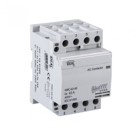 Kanlux KMC-63-40 moduláris mágneskapcsoló 63A/25A 4NO IP20 23242