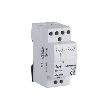 Kanlux KTF sínre szerelhető csengő transzformátor 230V/8-12-24V 23260