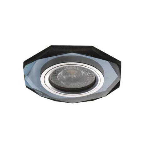 Kanlux MORTA OCT-B beépíthető süllyesztett dekorációs spot lámpa fekete 26715