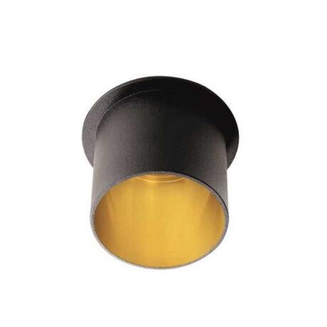 Kanlux SPAG L B/G álmennyezeti beépíthető spotlámpa fekete/arany IP20 27320