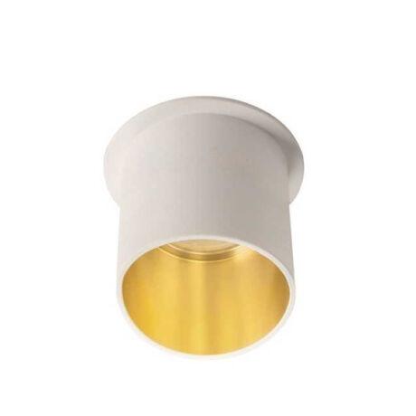 Kanlux SPAG L W/G álmennyezeti beépíthető spotlámpa fehér/arany IP20 27321