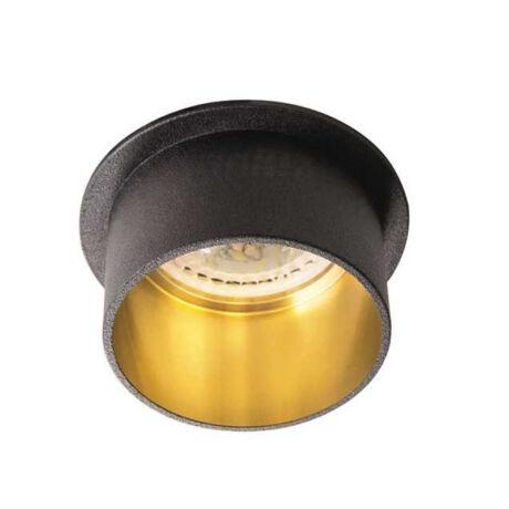 Kanlux SPAG S B/G álmennyezeti beépíthető spotlámpa fekete/arany IP20 27322