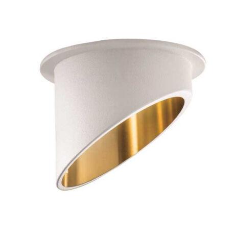Kanlux SPAG C W/G álmennyezeti beépíthető spotlámpa fehér/arany IP20 27325