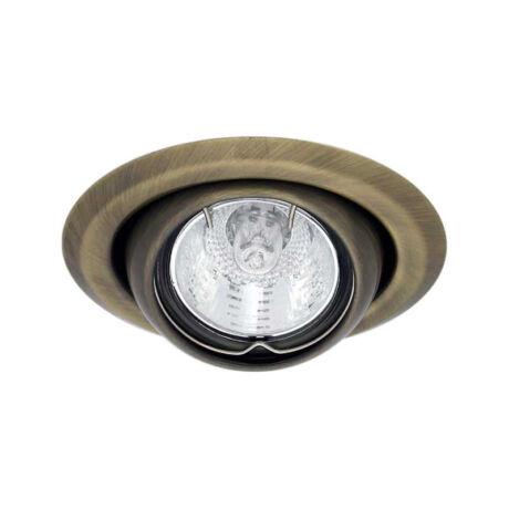 Kanlux ARGUS álmennyezeti beépíthető spotlámpa billenthető 45° matt réz lámpatest CT-2117-BR/M
