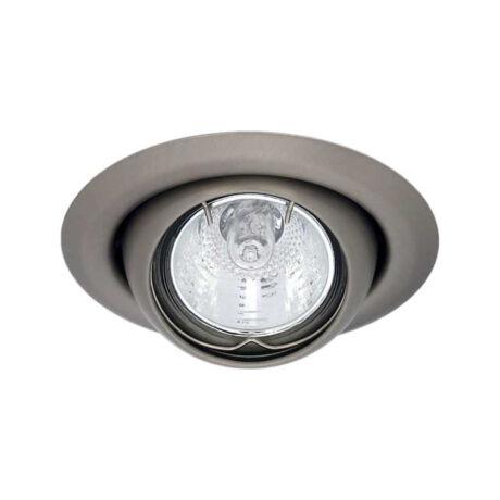 Kanlux ARGUS álmennyezeti beépíthető spotlámpa billenthető 45° matt króm lámpatest CT-2117-C/M