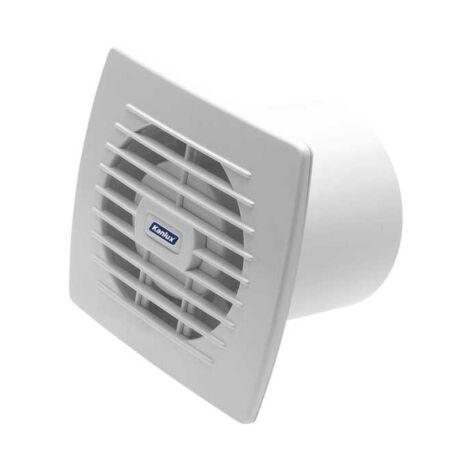 Kanlux CYKLON EOL 100 axiális fürdőszoba elszívó ventilátor húzókapcsolóval 19W 100m3/h 100mm