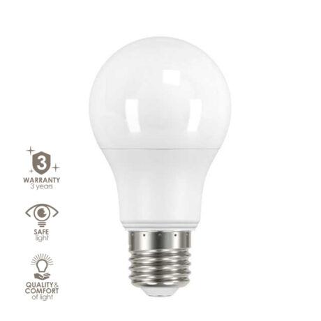 Kanlux IQ-LED lámpa-izzó E27 5,5W 2700K meleg fehér 470 lumen 3 év garancia