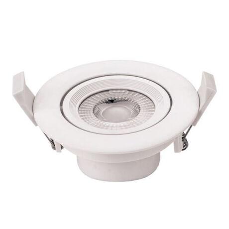 Optonica COB LED beépíthető kerek spot lámpa 5W 6000K hideg fehér 375 lumen 3264