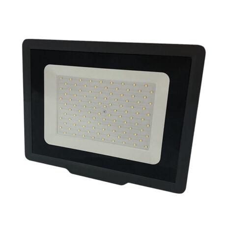 Optonica SMD LED reflektor 100W 2800K meleg fehér 8000 lumen fekete IP65 5929