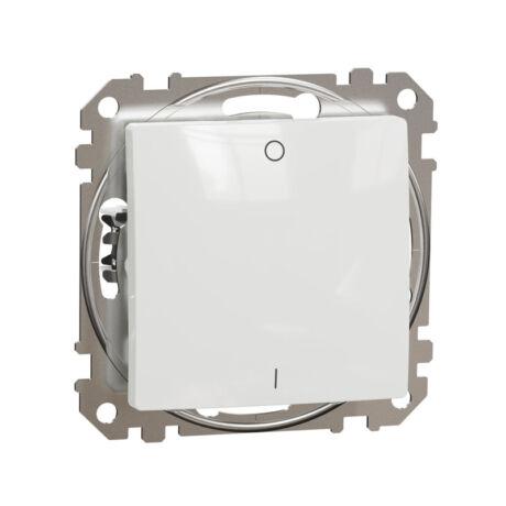 Schneider Sedna Design 102 kétpólusú kapcsoló keret nélkül fehér SDD111102