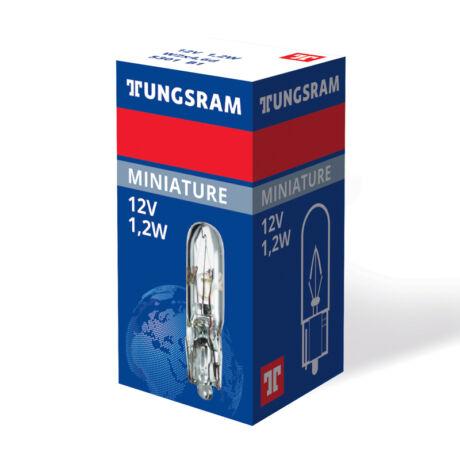 Tungsram Original 5301 B1 autó izzó 12V 1,2W üvegfejű műszerfal jelzőizzó W2x4,6d 93108008