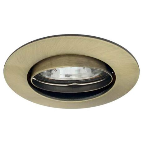 Kanlux álmennyezeti beépíthető spotlámpa billenthető patinált réz lámpatest CTX-DT02B-AB