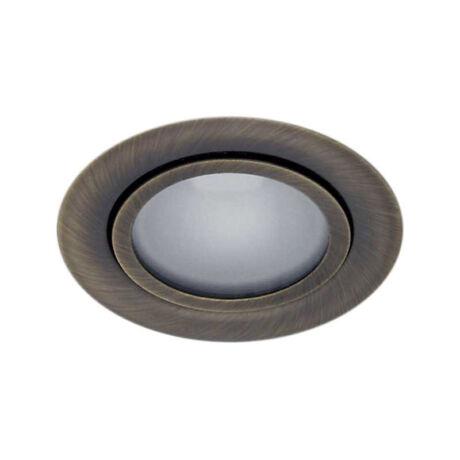 Kanlux GAVI álmennyezeti beépíthető spot lámpa matt réz G4 12V IP20 814