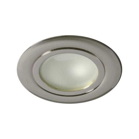 Kanlux GAVI álmennyezeti beépíthető spot lámpa matt króm G4 12V IP20 815