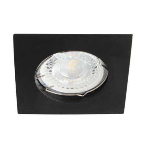 Kanlux álmennyezeti beépíthető spotlámpa csillogás mentes matt fekete lámpatest Navi CTX-DS10-B
