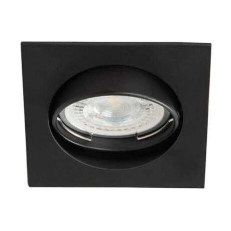 Kanlux álmennyezeti beépíthető spotlámpa billenthető csillogás mentes felület matt fekete lámpatest Navi CTX-DT10-B