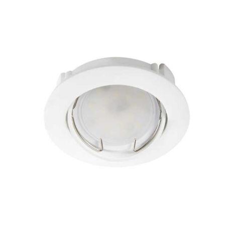 Kanlux ZENI 15-W műanyag billenthető álmennyezeti beépíthető spot lámpa fehér lámpatest
