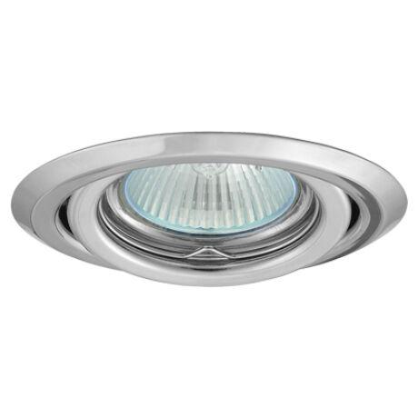 Greenlux Álmennyezeti beépíthető halogén spot lámpa billenthető króm lámpatest  AXL 2115-C Greenlux GXPP035