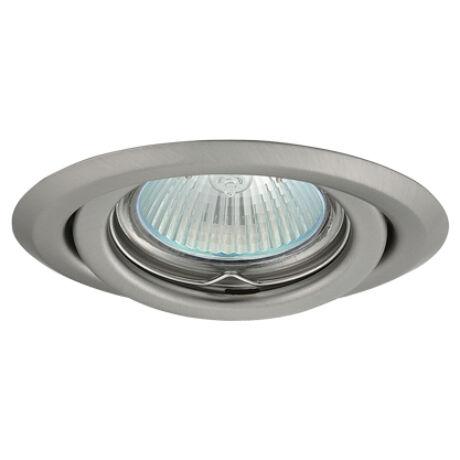Greenlux Álmennyezeti beépíthető halogén spot lámpa billenthető matt króm lámpatest AXL 2115-CM Greenlux GXPP036