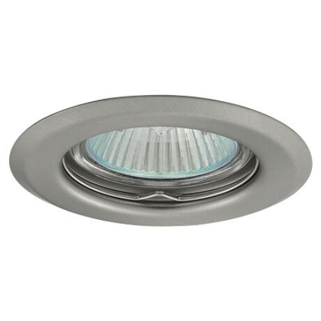 Greenlux Álmennyezeti beépíthető halogén fix spot lámpa matt króm lámpatest AXL 2114-CM Greenlux GXPP009