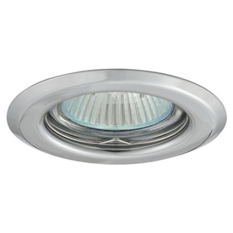 Greenlux Álmennyezeti beépíthető halogén fix spot lámpa króm lámpatest AXL 2114 -C Greenlux GXPP008