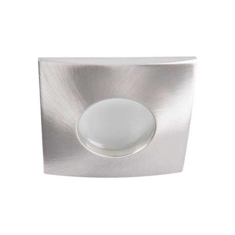 Kanlux álmennyezeti beépíthető spotlámpa matt króm lámpatest QULES AC L-C/M