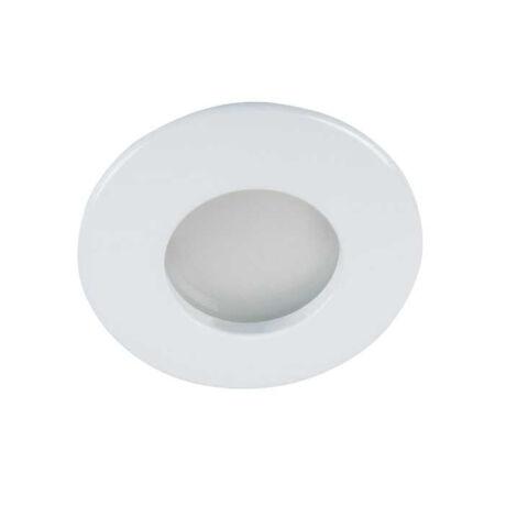 Kanlux álmennyezeti beépíthető spotlámpa fehér lámpatest QULES AC O-W