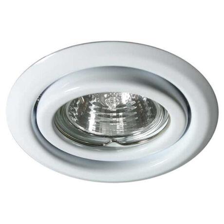 Kanlux álmennyezeti beépíthető spotlámpa billenthető fehér lámpatest Argus CT-2115-W