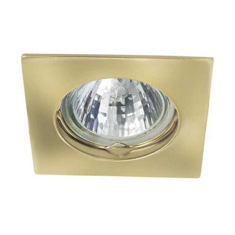 Kanlux álmennyezeti beépíthető spotlámpa arany lámpatest Navi CTX-DS10-G