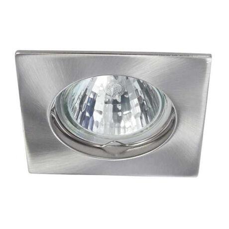 Kanlux álmennyezeti beépíthető spotlámpa matt króm-szatén nikkel lámpatest Navi CTX-DS10-SN