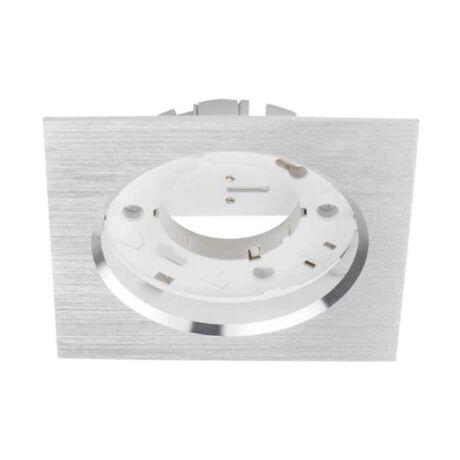 Kanlux Volantio ESG L-SR ezüst szögletes beépíthető spotlámpa GX53