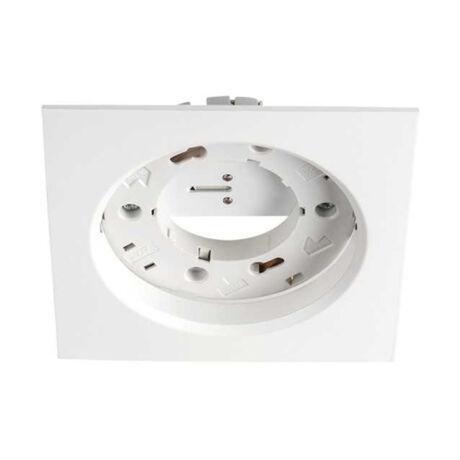 Kanlux Volantio ESG L-W fehér szögletes beépíthető spotlámpa GX53