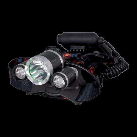 Elmark LED fejlámpa 1xXML T6 + 2xCREE XPE 1200Lm 100171