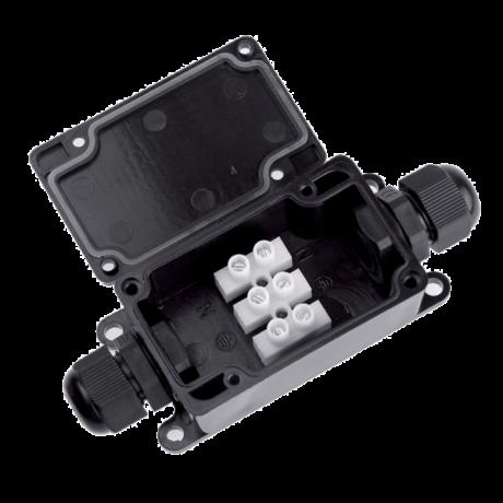 Elmark vízmentes csatlakozó doboz 0,5-2,5 IP65 450V 10A 31070