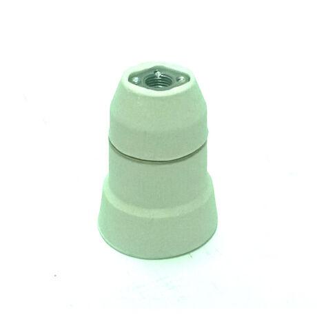 E27 Porcelán lengő foglalat M10 menettel