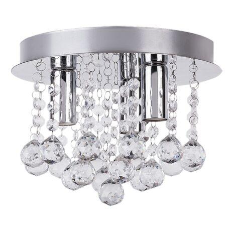 Corinna mennyezeti D25 3XE14 kristály lámpatest Rábalux 2615
