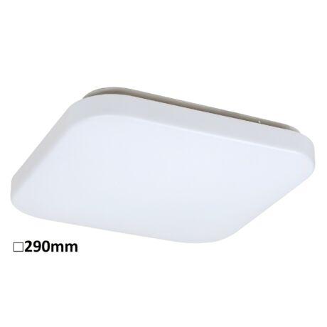 Rob LED 20W 1400Lm 3000K meleg fehér D29 négyzet alakú mennyezeti lámpatest IP20 Rábalux 3340