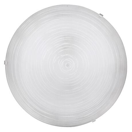Tracy mennyezeti lámpatest D40 E27 2x60W fehér átlátszó Rábalux 3686