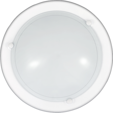 Hagyományos ufo mennyezeti lámpa fehér E27 D30cm