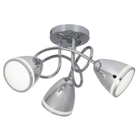 Martin króm mennyezeti spot LED lámpa 3x4W Rábalux 5934