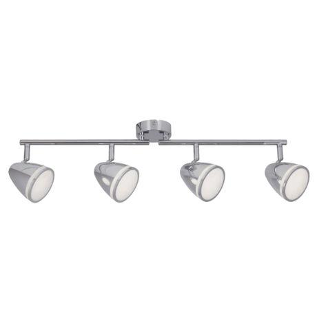 Martin króm mennyezeti spot LED lámpa 4x4W Rábalux 5935