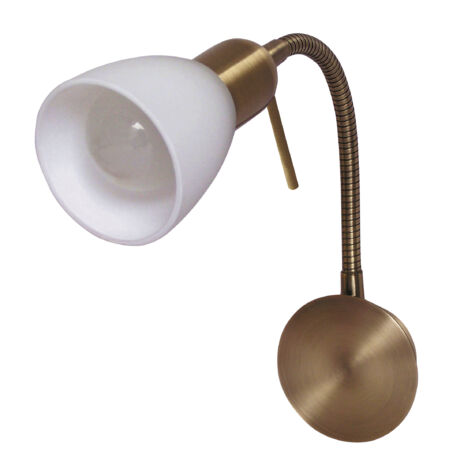 Soma bronz/fehér gégecsöves állítható spot Rábalux 6320