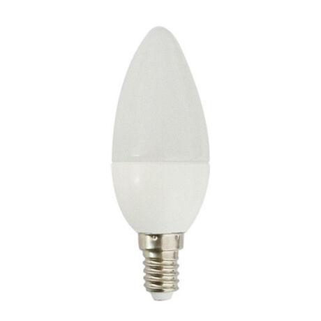 Trixline LED lámpa-izzó C35 gyertya E14 4W 6500K hideg fehér 320 lumen