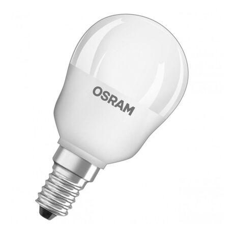 Osram CL P 40 kisgömb led lámpa-izzó E14 5W/827 2700K meleg fehér 470 lumen
