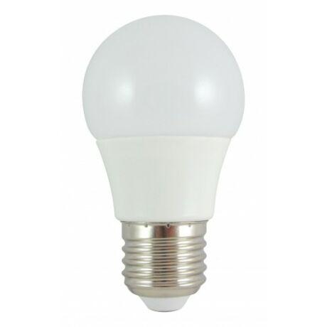 Led lámpa 8W = 60W E27 izzó körte természetes fehér 690 lumen 270° kisgömb izzó forma G45 Trixline