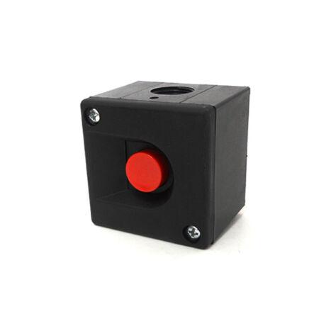 BKV-MT tokozott nyomógomb piros IP40