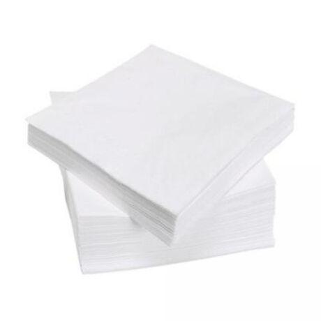 Éttermi szalvéta 150 lap fehér 25x25cm 150db