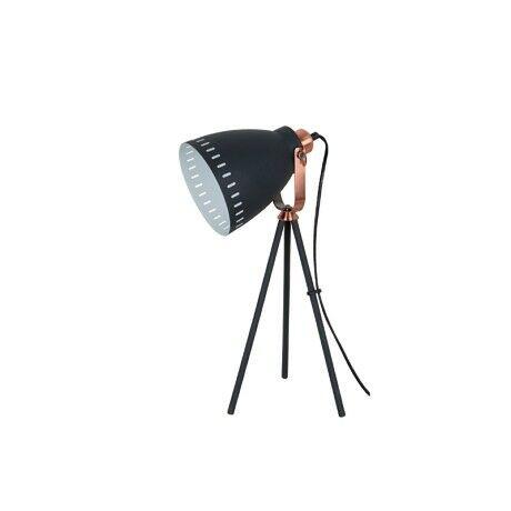 Elmark MAX asztali lámpa 1xE27 fekete 955MAX1T